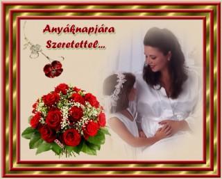 Anyák napjára köszöntő