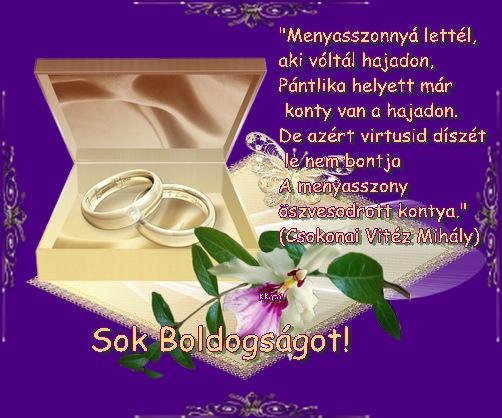 esküvői köszöntő lapok >>>Esküvőre évfordulóra esküvői köszöntő lapok
